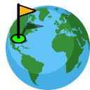 World Globe - Find Golf courses